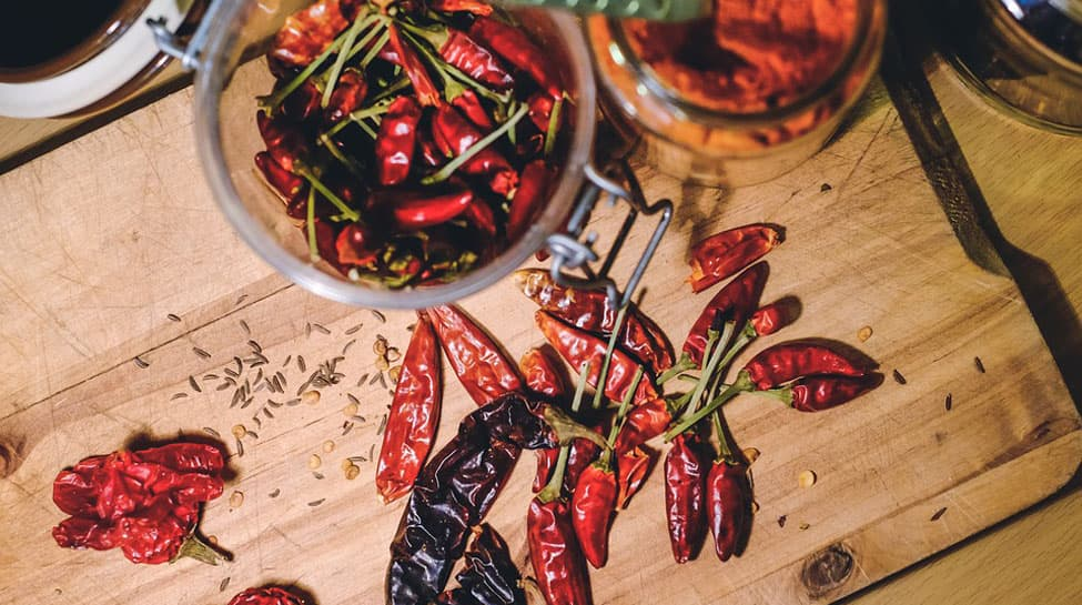 Spicy diet linked with dementia