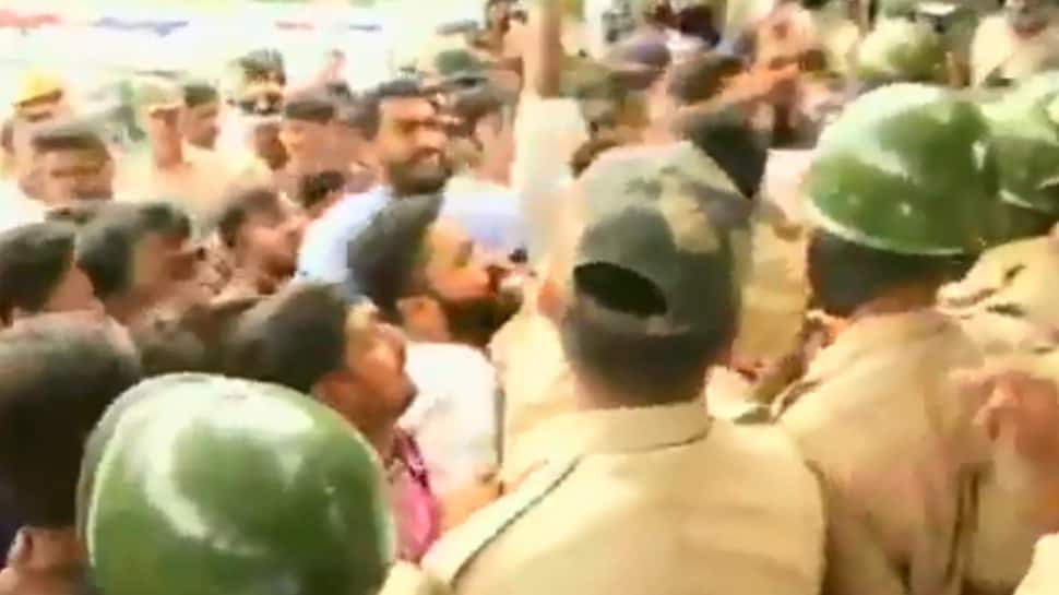 Karnataka crisis: Section 144 imposed in Bengaluru till Wednesday after clashes between BJP and Congress workers