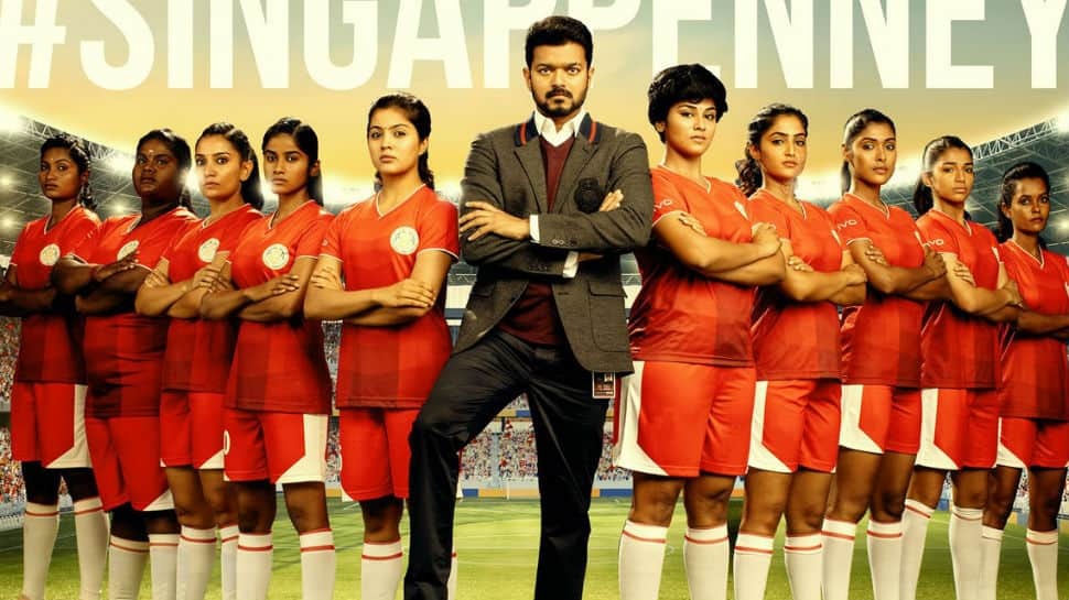 'Singappenney', the women anthem from Vijay's 'Bigil', is set to rule chartbusters - Watch