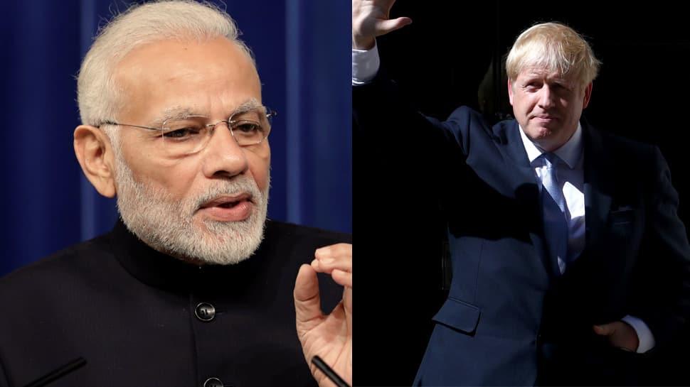 PM Narendra Modi congratulates Boris Johnson on becoming new Prime Minister of UK