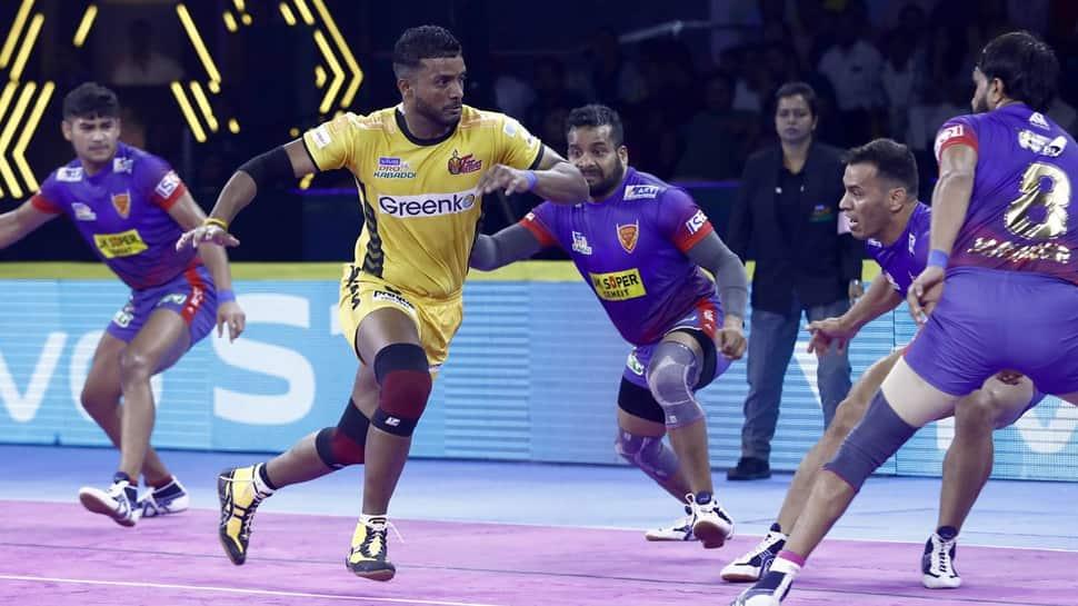 Delhi pip Telugu Titans 34-33 in nail-biting PKL 2019 tie | Other