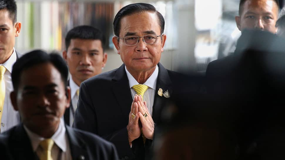 Thai PM faces first opposition challenge as he sets out government's plans