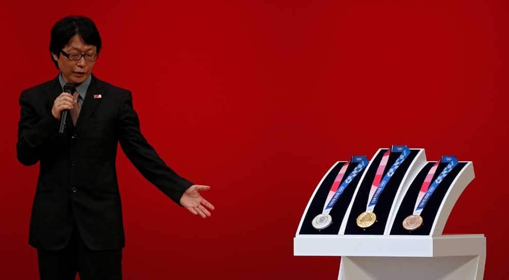 Tokyo 2020 medal designer basks in sudden fame