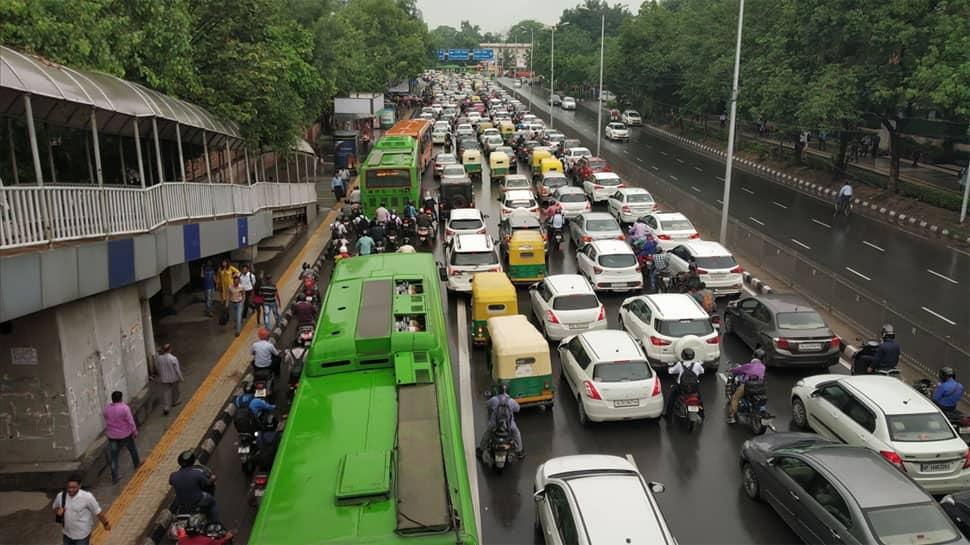 Massive traffic snarls engulf Delhi-NCR, vehicles crawl at snail's pace