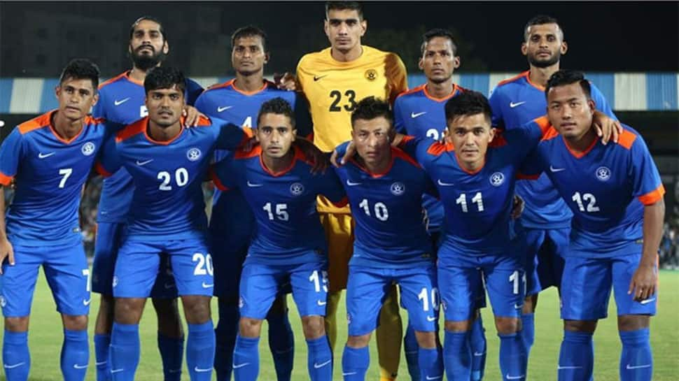 India drop down to 103 in FIFA rankings