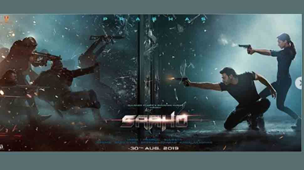 Prabhas, Shraddha fight with armed assailants in new Saaho poster — Check out