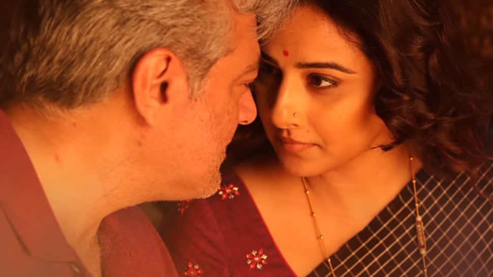 Nerkonda Paarvai's 'Agalaathey' song featuring Vidya Balan and Ajith out—Watch