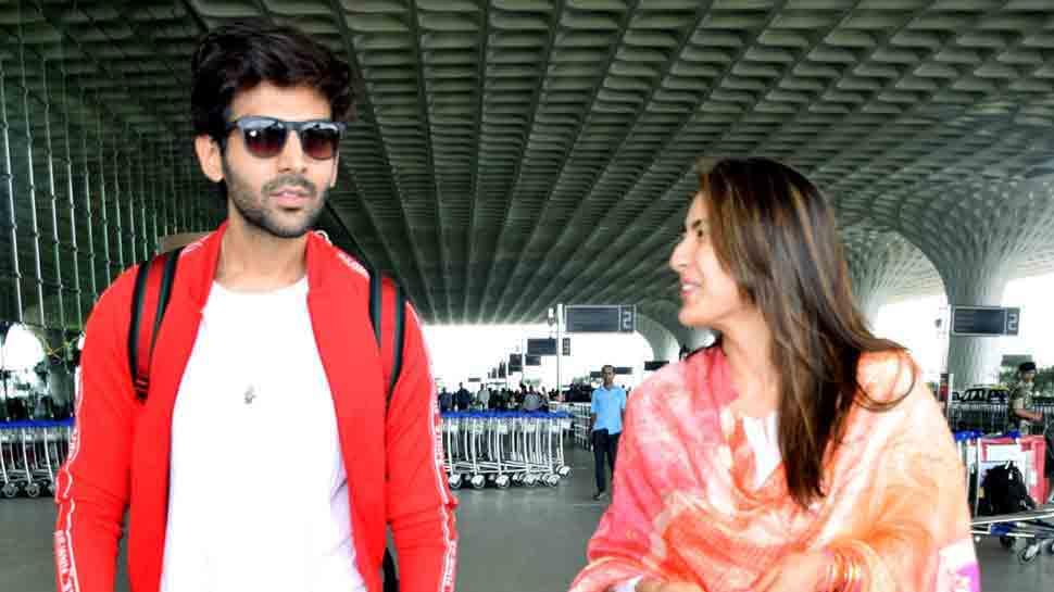 Sara Ali Khan, Kartik Aaryan go on dinner date in Lucknow, spotted holding hands — Watch