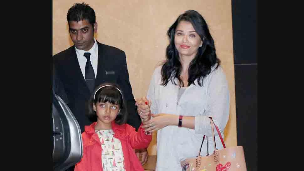 Aishwarya Rai, Abhishek Bachchan step out for dinner with daughter Aaradhya, mother Brinda Rai