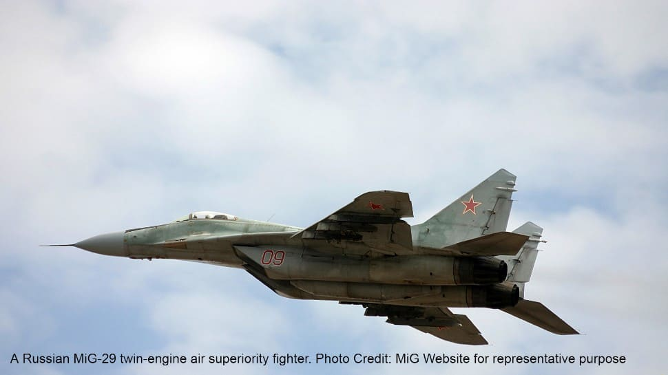 MiG-29 fighter of Azerbaijani Air Force crashes into Caspian Sea, pilot missing