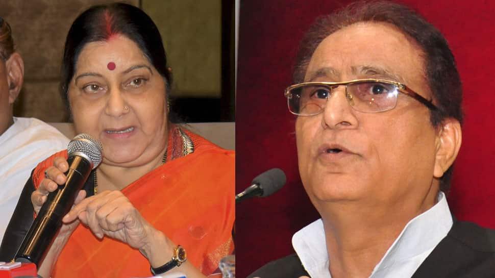 Azam Khan's statements prove he suffers from mental perversion: Sushma Swaraj