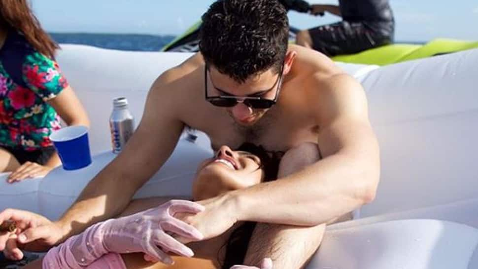 Priyanka Chopra-Nick Jonas' loved-up pictures from their yacht party are winning the internet-See inside