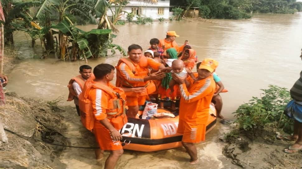 How NDRF personnel are throwing caution to the wind to rescue people