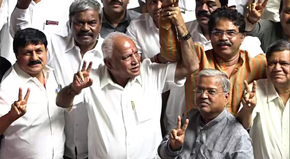 It's advantage BJP as CM Yediyurappa gets set to prove majority in Karnataka Assembly