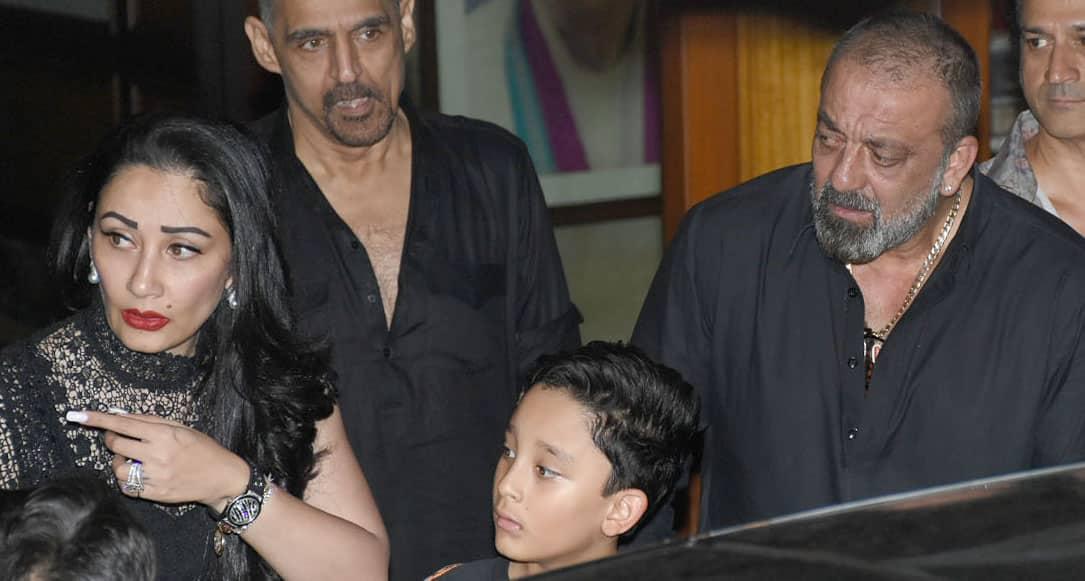 Sanjay Dutt turns 60, celebrates birthday with wife ...