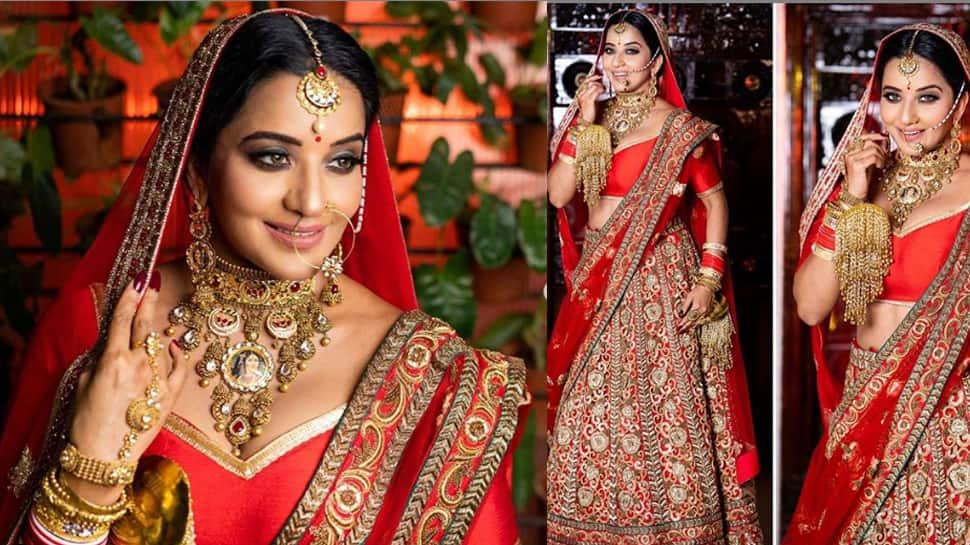 Monalisa channels her inner Padmaavati in latest bridal photoshoot! Pics