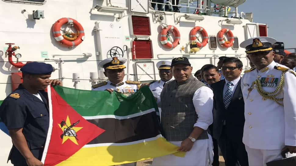 India hands over two Fast Interceptor boats to Mozambique