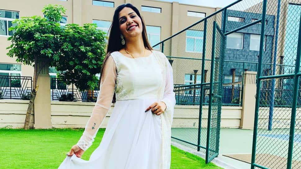 'Desi queen' Sapna Choudhary looks ethereal in white - See pics here