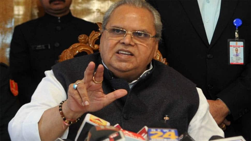 J&K Governor Satya Pal Malik accuses local politicians of showing false dreams to youngsters