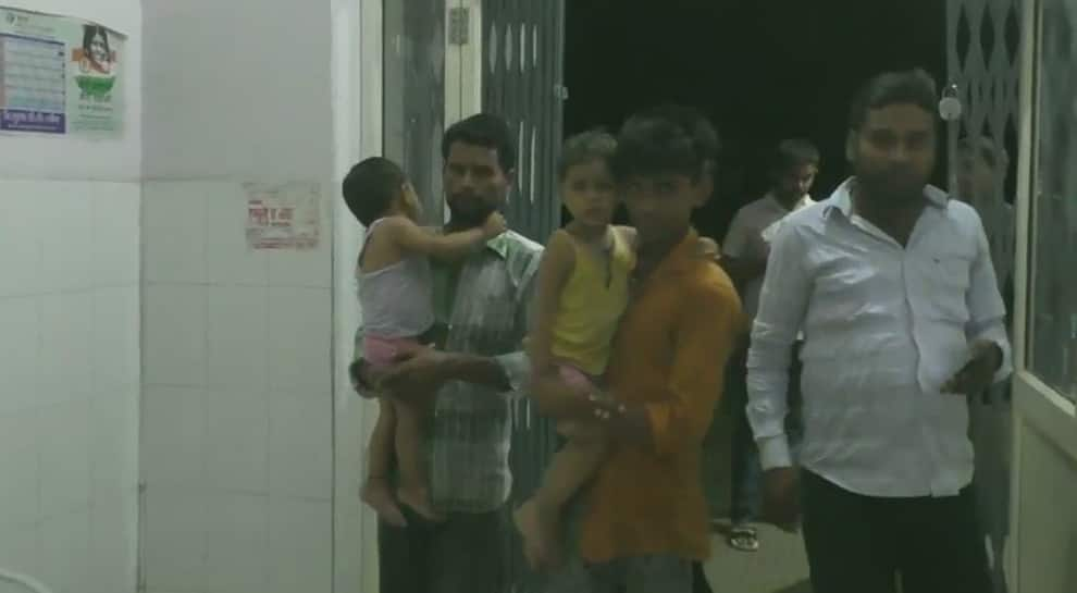 UP: Over 12 children fall sick after consuming milk distributed at temple