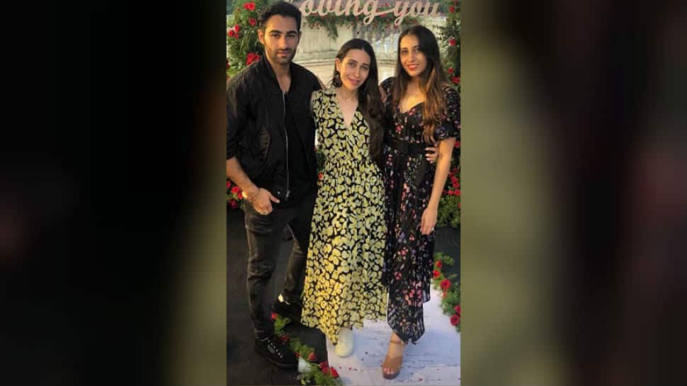 Actor Armaan Jain gets engaged to girlfriend Anissa Malhotra, cousins Karisma Kapoor, Riddhima share pics