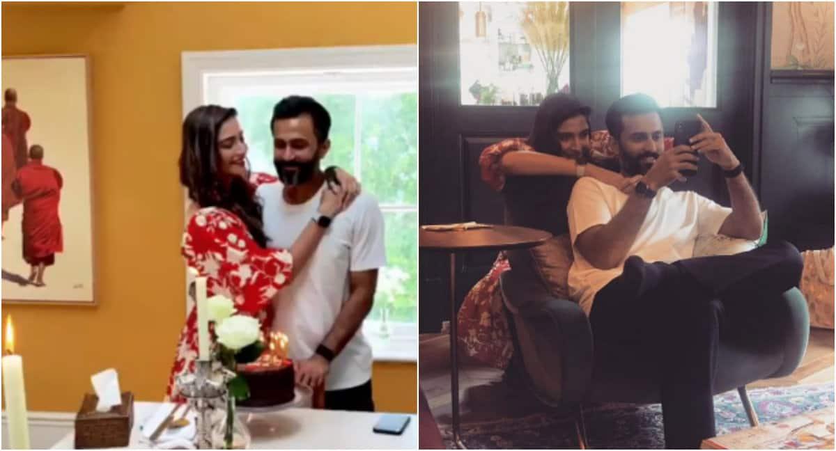 How Sonam Kapoor celebrated husband Anand Ahuja's birthday - Pics