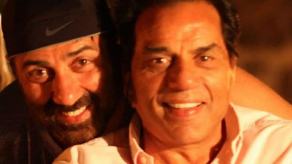 Dharmendra, a 'worried father', posts this message for Sunny Deol after he rescued woman sold as slave