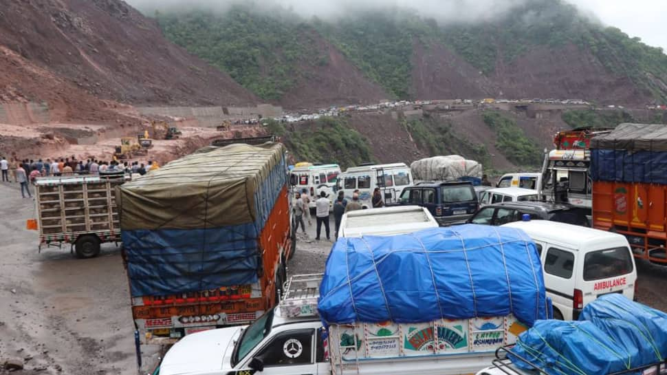 Jammu-Srinagar national highway closed due to landslide; one route for Vaishno Devi closed