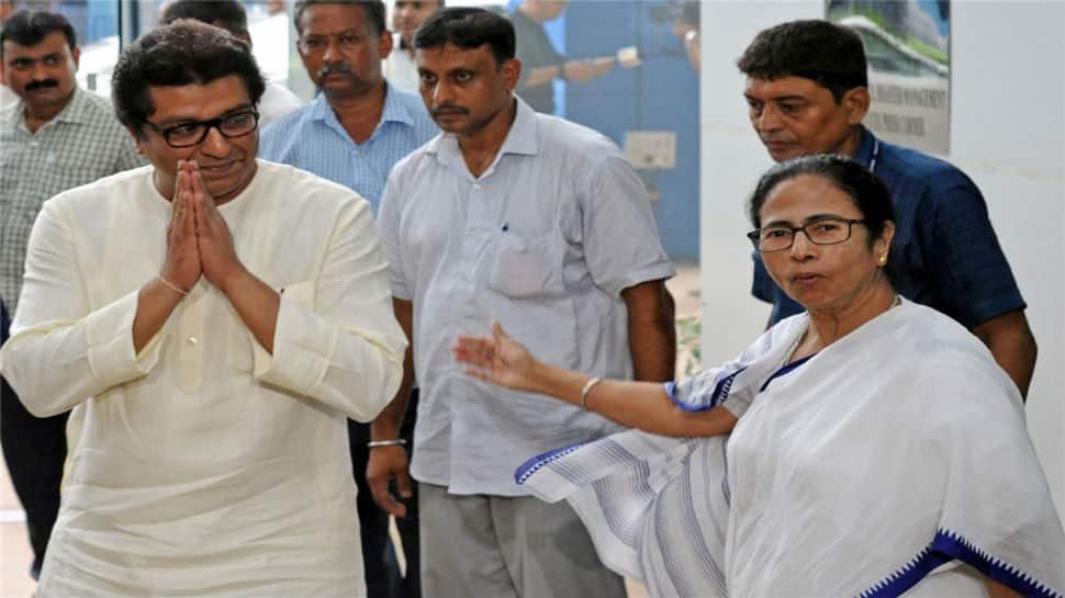 Raj Thackeray meets Mamata Banerjee, asks her to join his call for ballot boxes