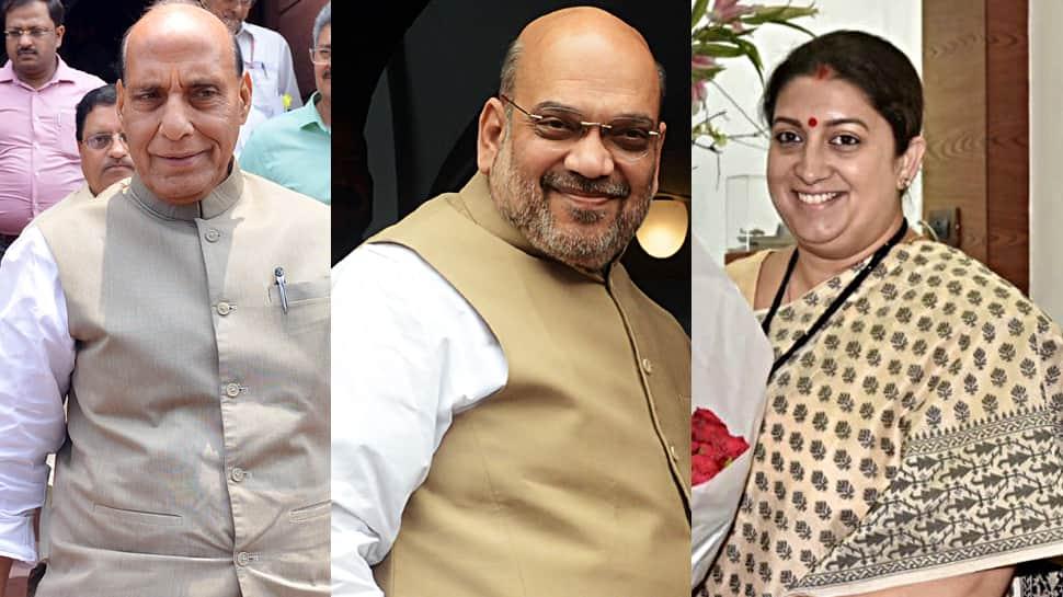 Rajnath Singh, Amit Shah, Smriti Irani get front row seat in Lok Sabha, Rahul Gandhi retains seat in second row