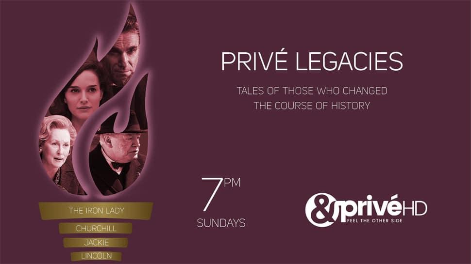 Meet the great men and women who shaped history as &PrivéHD brings Privé Legacies