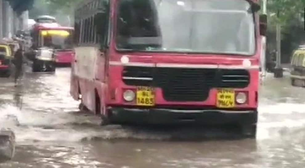 Mumbai rains: Traffic diversion and BEST buses route change due to waterlogging, snarls