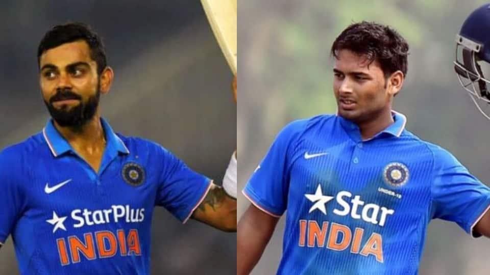 Virat Kohli backs Rishabh Pant to unleash potential in MS Dhoni's absence