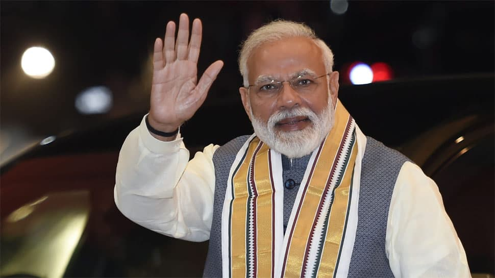 PM Modi thanks people of Tripura for BJP's win in panchayat polls