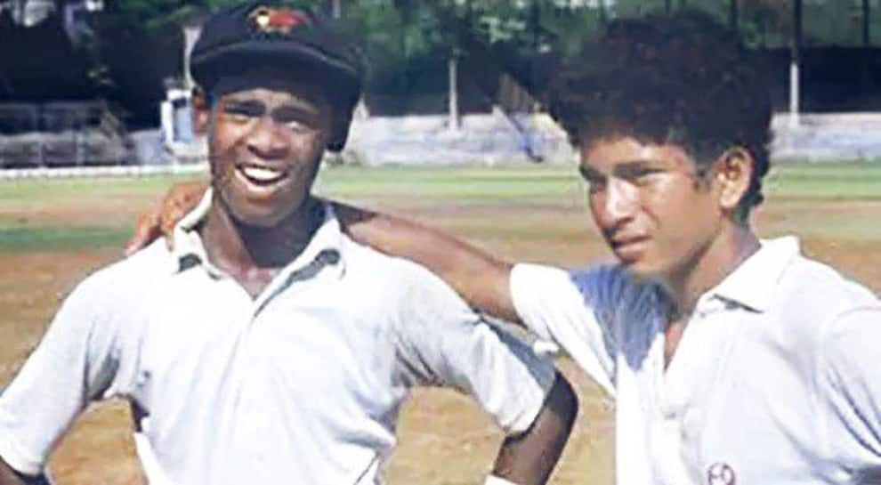 Sachin Tendulkar walks down memory lane, shares picture of himself & Vinod Kambli as kids