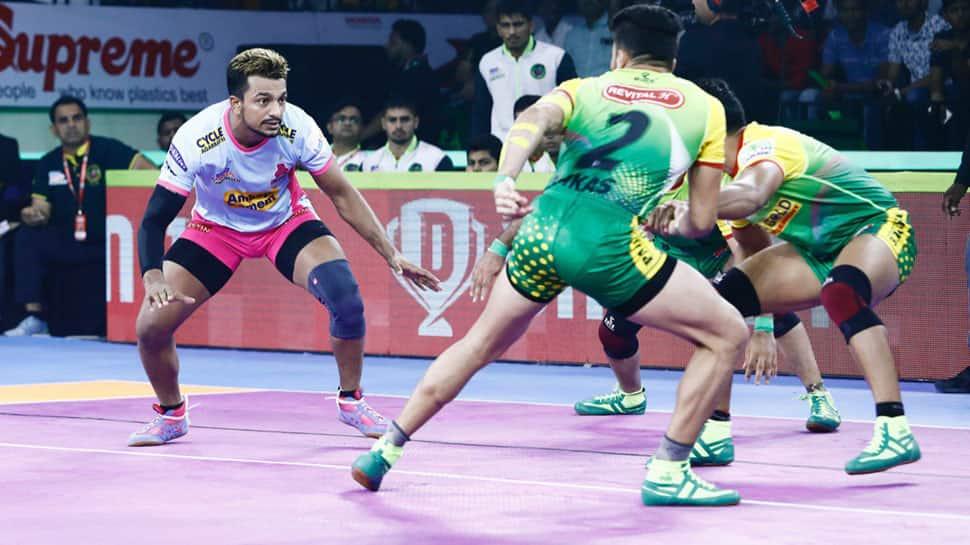 PKL 7: Jaipur Pink Panthers notch up 34-21 win over Patna Pirates