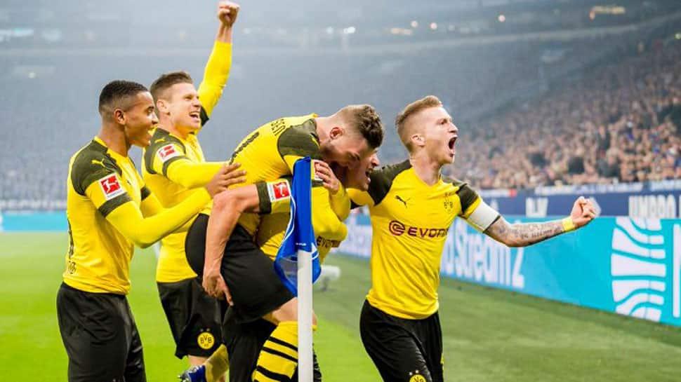 Jadon Sancho stars as Borussia Dortmund down Bayern Munich to win German Super Cup
