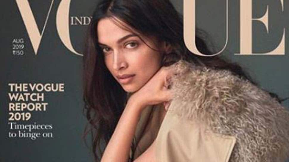 Deepika Padukone's no-makeup look on Vogue's cover is winning the internet-See inside