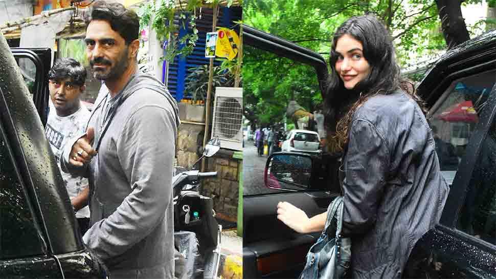 Arjun Rampal, Gabriella Demetriades step out for lunch date
