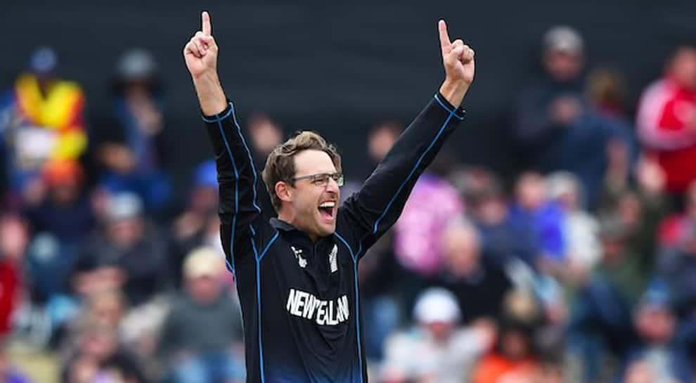 Former New Zealand all-rounder Daniel Vettori's jersey number 11 retired