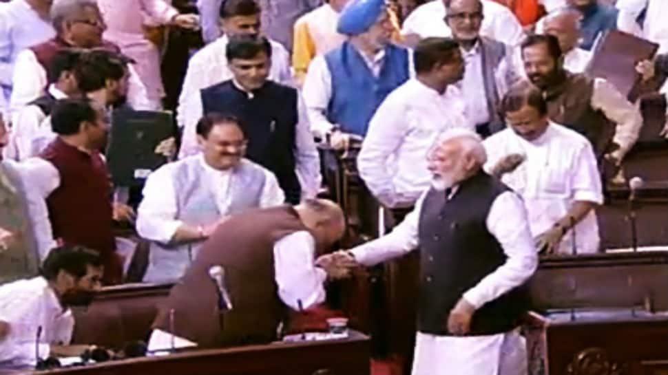 Article 370 scrapped, Rajya Sabha passes bill to bifurcate Jammu and Kashmir