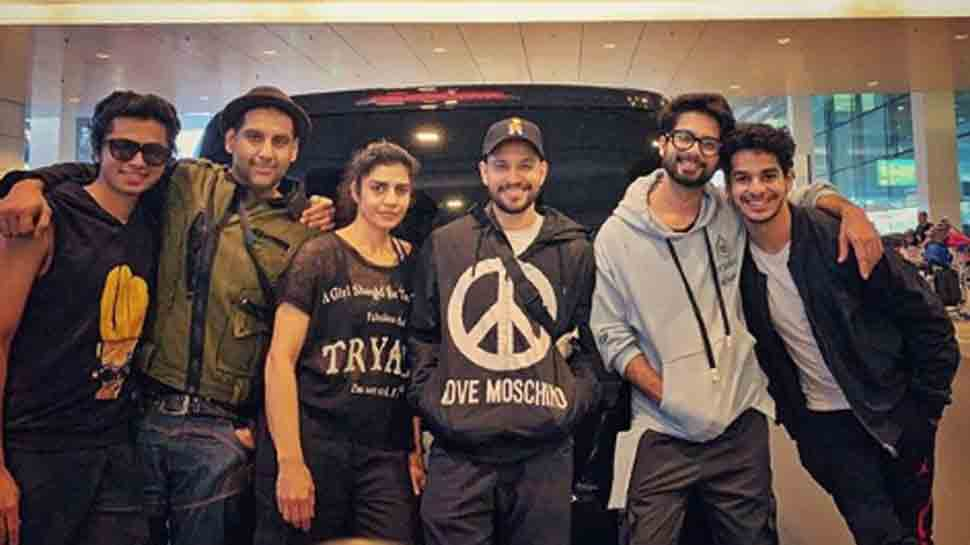 It's all 'happy vibes' for Shahid Kapoor and squad on European holiday