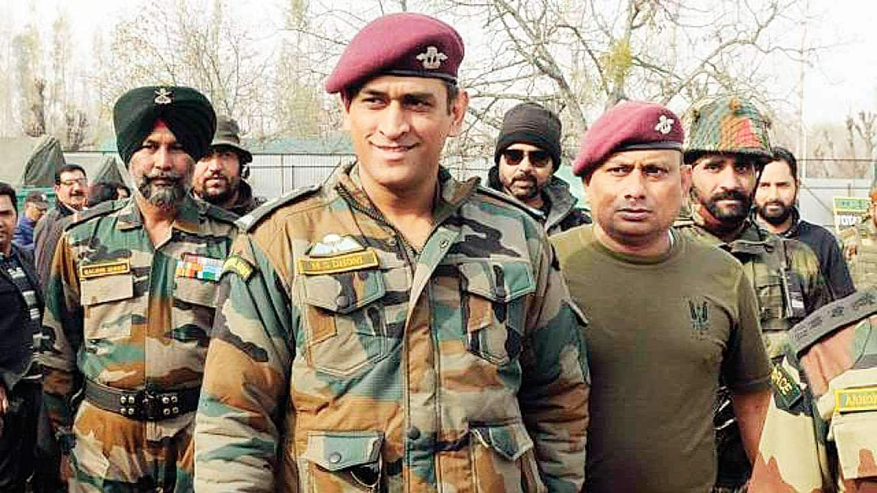 Lieutenant Colonel MS Dhoni wins hearts with singing skills