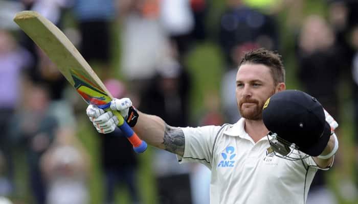 Sachin Tendulkar hails Brendon McCullum's contribution to New Zealand