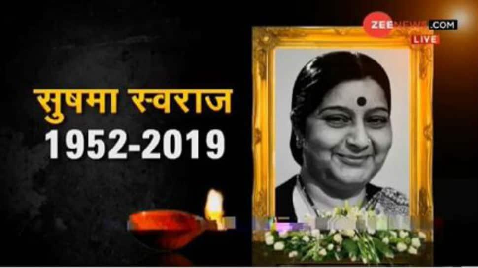 Sushma Swaraj dead at 67