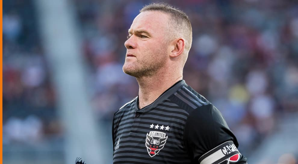Legend striker Wayne Rooney joins Derby County as player-coach