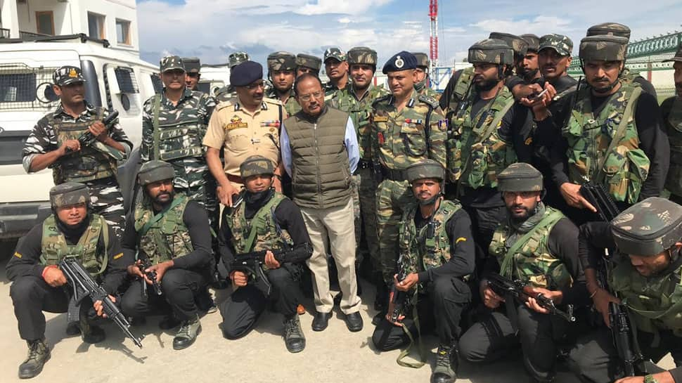 In report on J&K situation to PM and Amit Shah, NSA says locals supportive of Centre's decision
