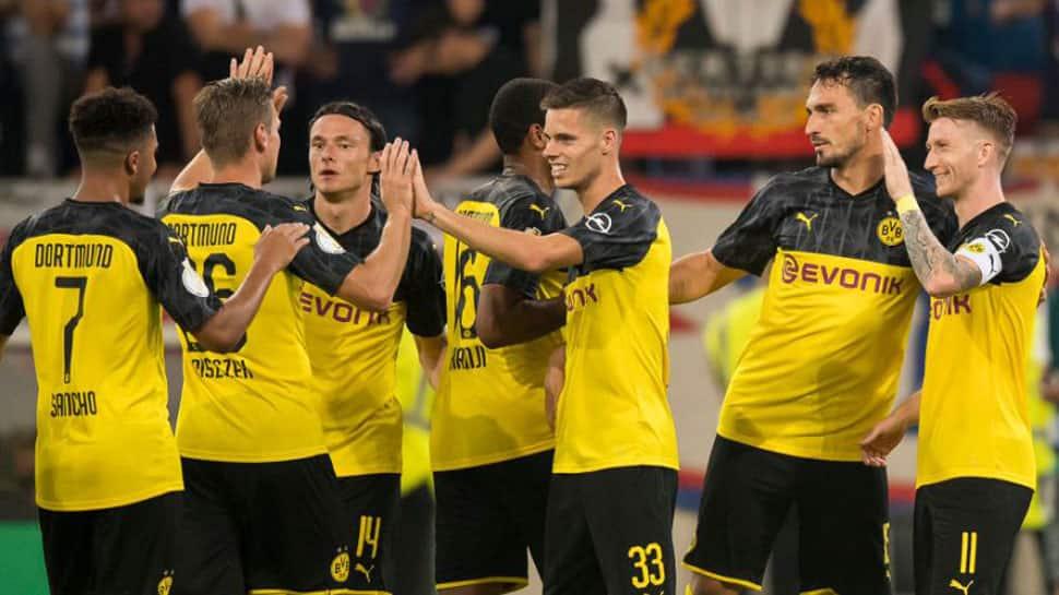 Borussia Dortmund work up a sweat to move past KFC Uerdingen in German Cup