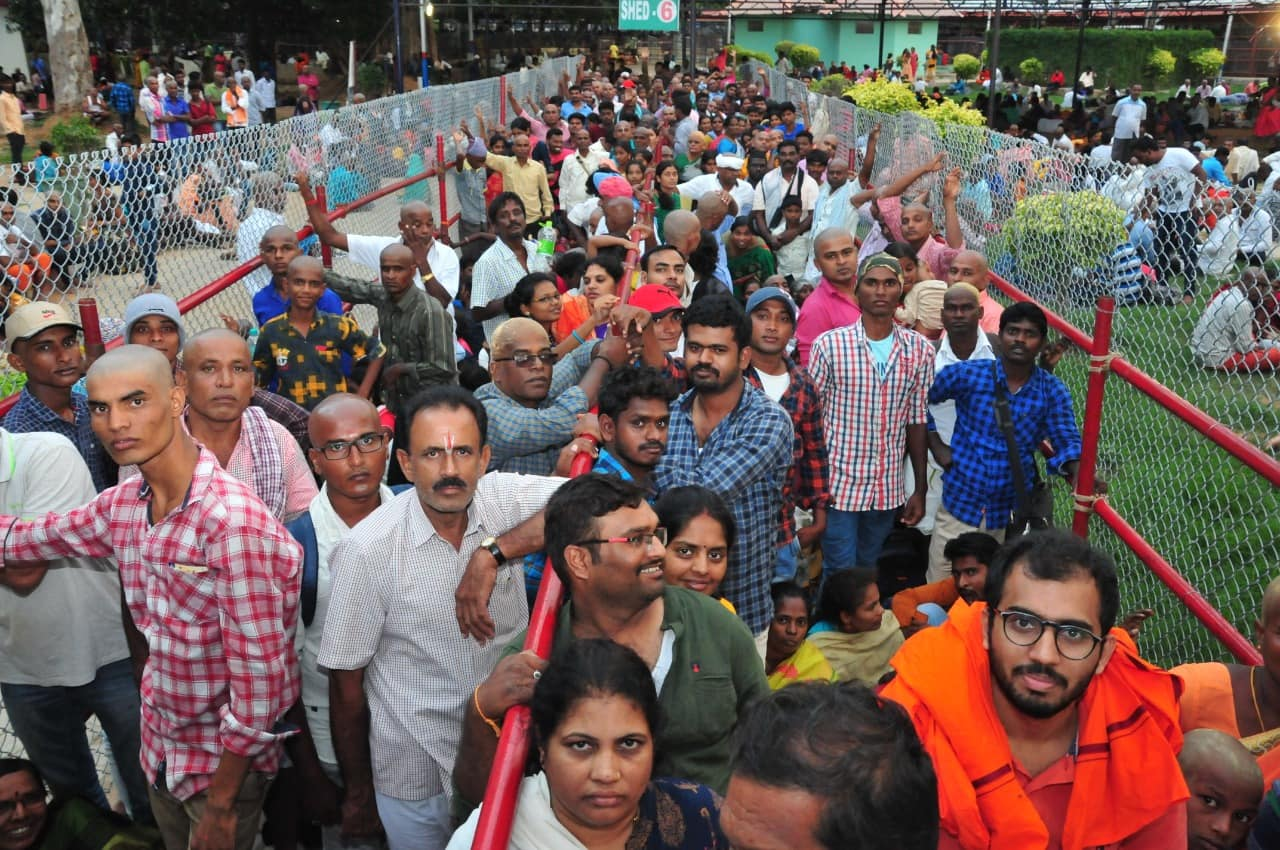 Photo gallery: Devotees throng Tirumala Tirupati's Lord Balaji