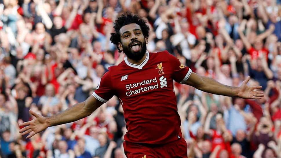 EPL: Mohamed Salah comforts star-struck Liverpool fan who injured nose